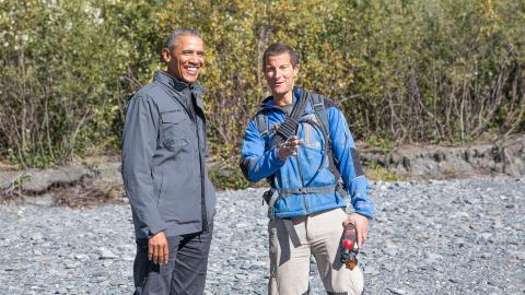 Bear Grylls VS Obama