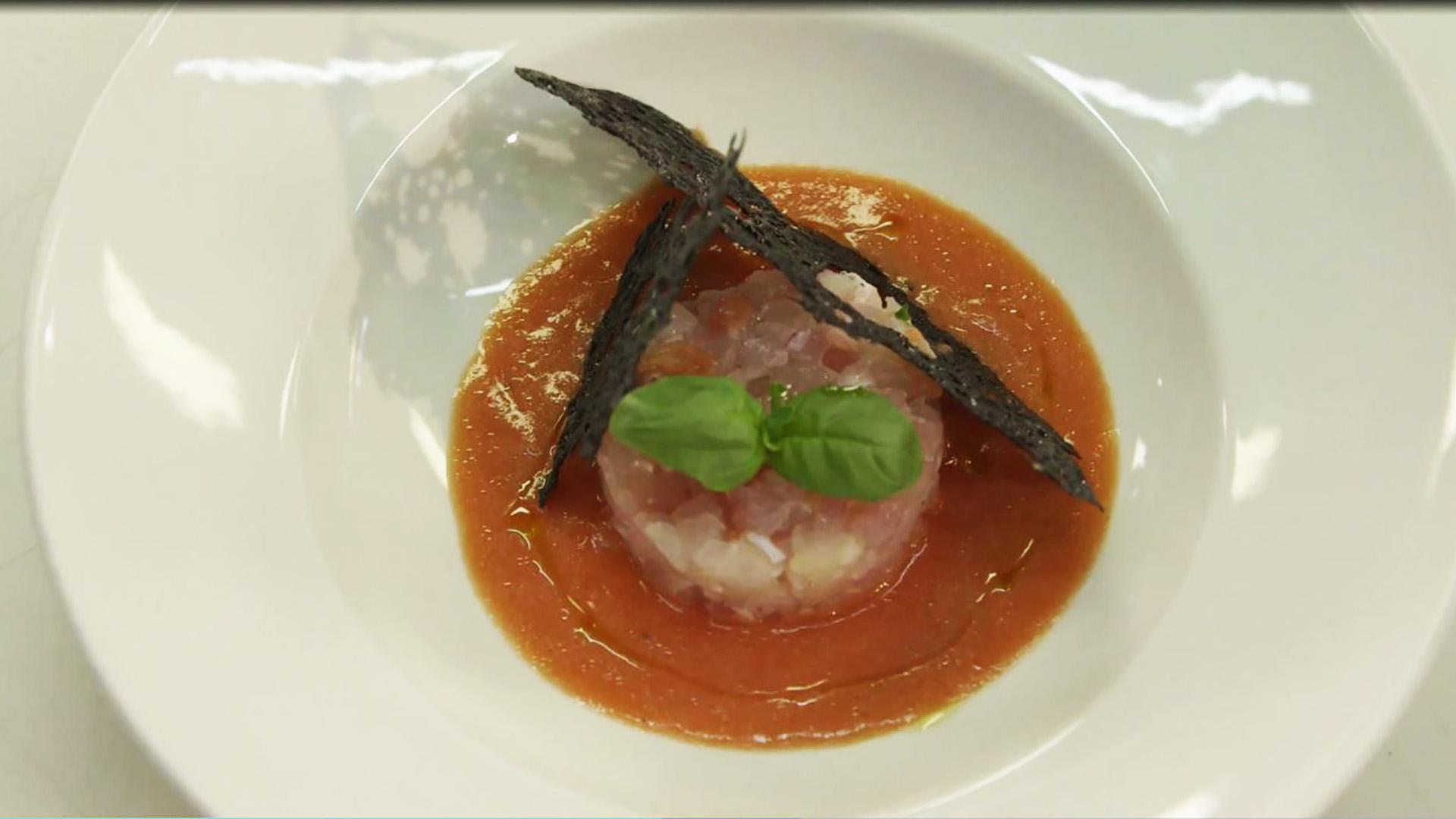 Cucine da incubo italia le ricette di chef cannavacciuolo tartare di dentice con cialda al - Ricette cucine da incubo ...