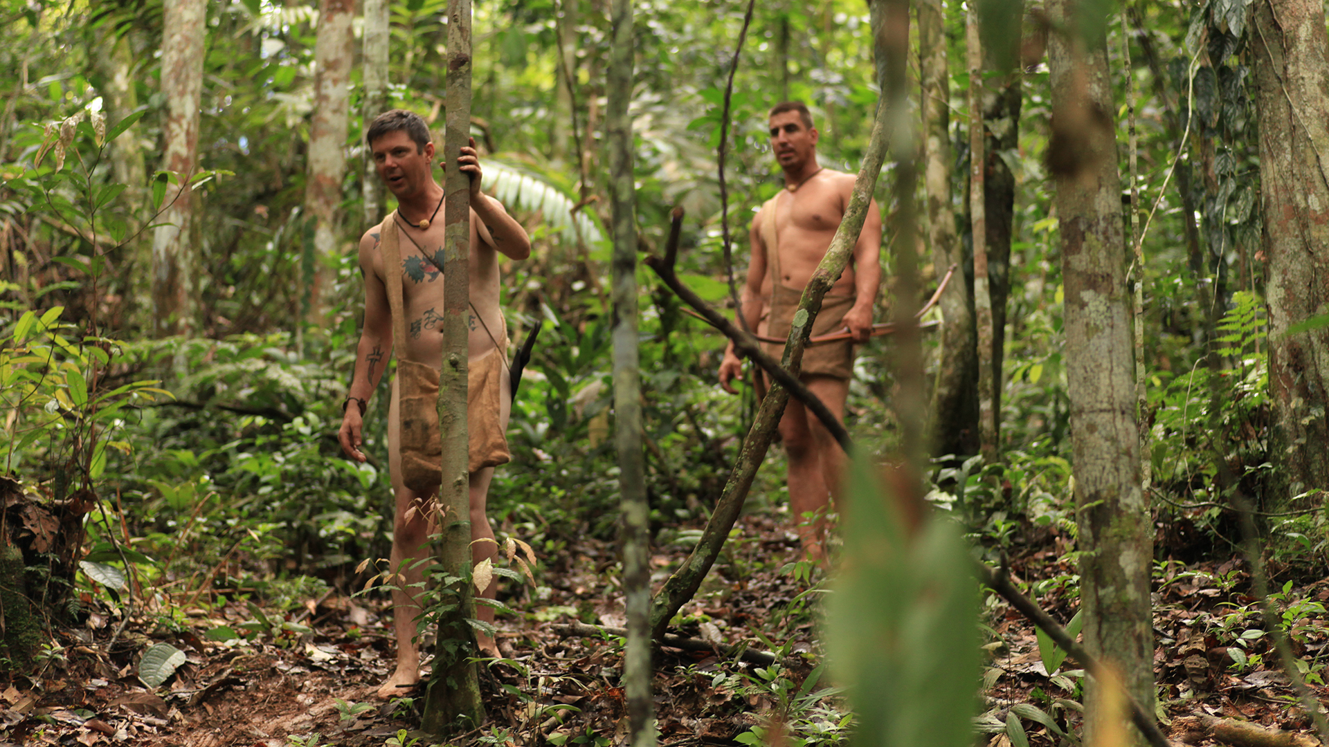 Naked and afraid shows everything