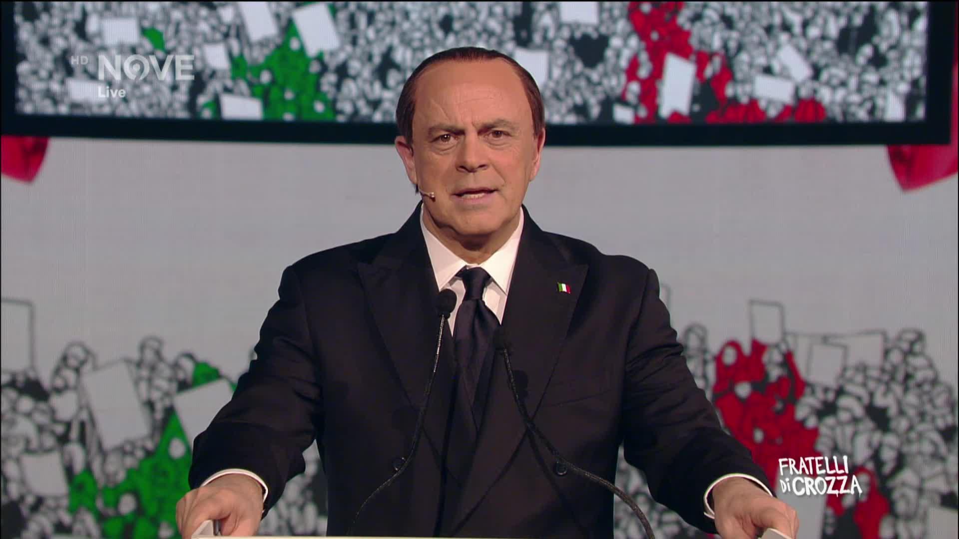 Fratelli Di Crozza Crozza Berlusconi La Flas Tas Dplay
