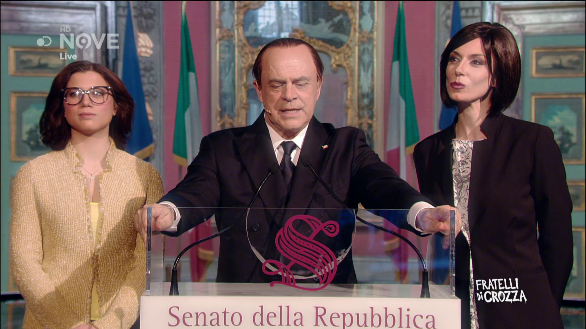 Fratelli Di Crozza Crozza Berlusconi Io Sono Tutto Naturale Al