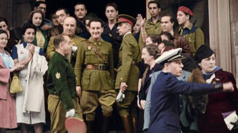 España después de la guerra: el franquismo en color - Episodio 1