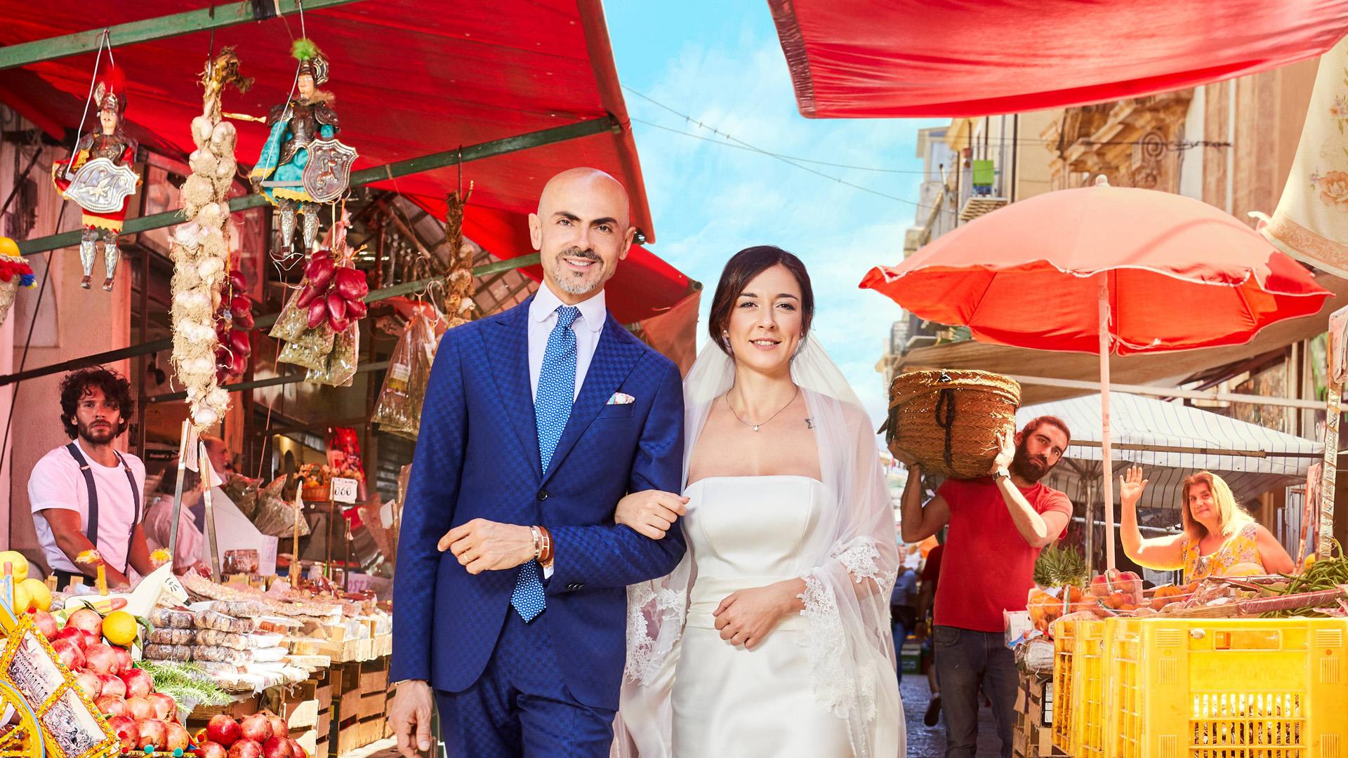 Real Time Abito da sposa cercasi Palermo