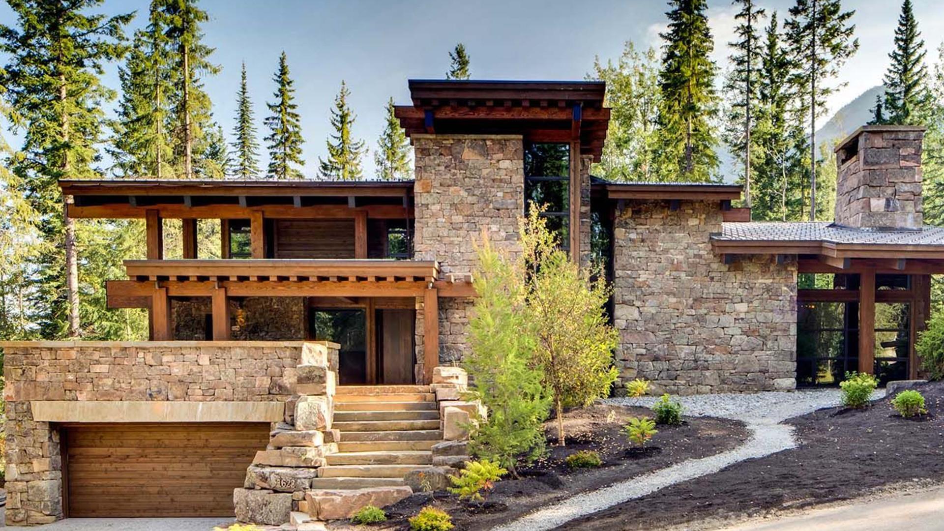 Home and garden Case impossibili: montagne rocciose