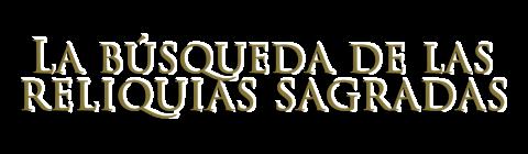 La búsqueda de las reliquias sagradas - Logo