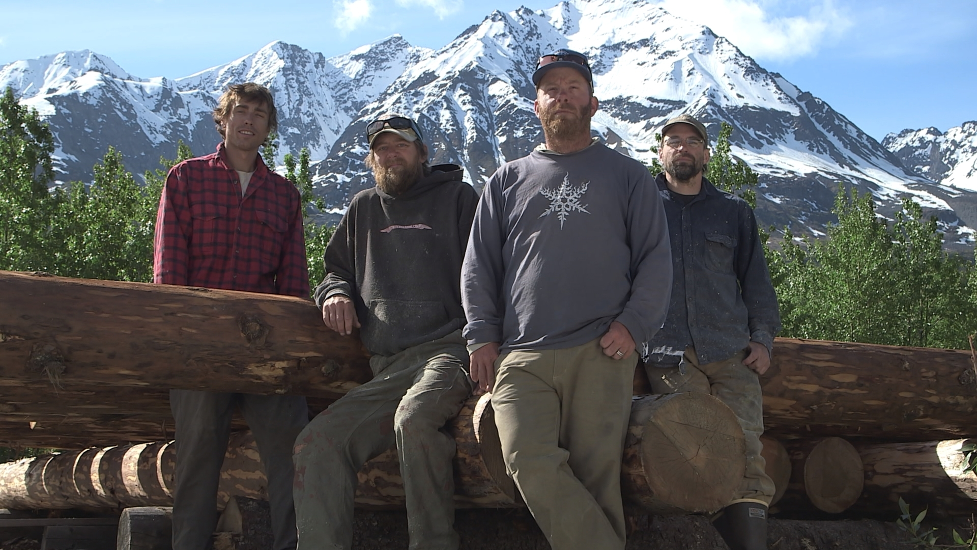 DMAX Alaska: costruzioni selvagge