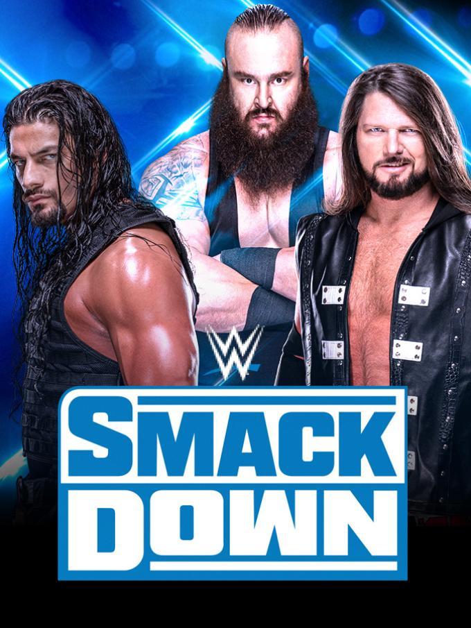 """WWE SmackDown - Le Superstar della WWE sono pronte a invadere il tuo schermo con i nuovi episodi di Friday Night Smackdown! Braun Strowman, Roman Reigns, Aj Styles, The Fiend Bray Wyatt e tantissimi altri altleti ti aspettanno sul ring dello show """"blu"""". Nuove rivalità, cambi di cintura: settimana dopo settimana, segui il racconto di uno degli eventi più iconici della WWE!"""