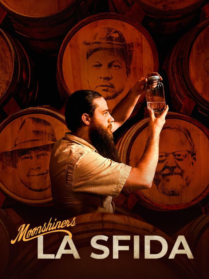 Moonshiners: la sfida - L'indimenticabile Moonshiners torna in una veste tutta nuova: una vera e propria competizione tra mastri distillatori americani per dimostrare chi di loro si meriti davvero il titolo di «Master distiller». Pronti per il Masterchef dei distillatori?