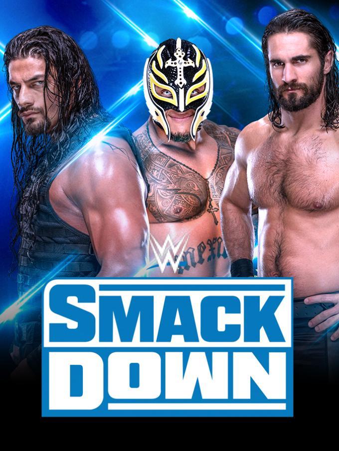 """WWE SmackDown - Le Superstar della WWE sono pronte a invadere il tuo schermo con i nuovi episodi di Friday Night Smackdown!  Roman Reigns, Seth Rollins, Rey Mysterio, Bayley e tantissimi altri atleti ti aspettanno sul ring dello show """"blu"""". Nuove rivalità, cambi di cintura: settimana dopo settimana, segui il racconto di uno degli eventi più iconici della WWE!"""
